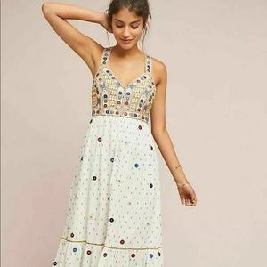 Anthropologie Payal Pratap Embroidered dress new 0